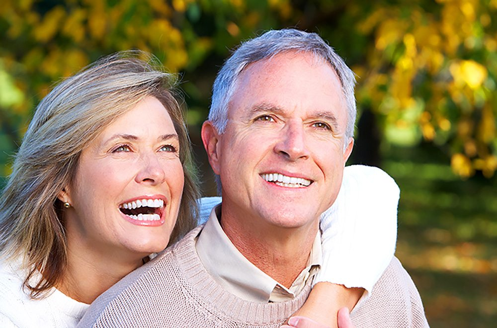 seniors with great dental health
